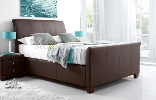 Allendale Ottoman in Brown at the Bed and Mattress Centre