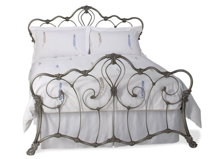 UK King Athalone in Silver by Original Bedstead Company