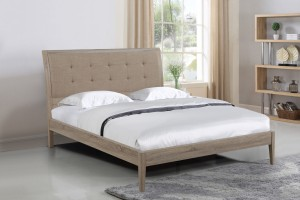 Broughton Oak and linen at the Bed and Mattress Centre