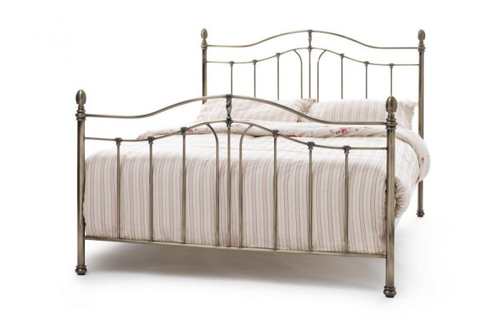 Camilla in Brass Bed