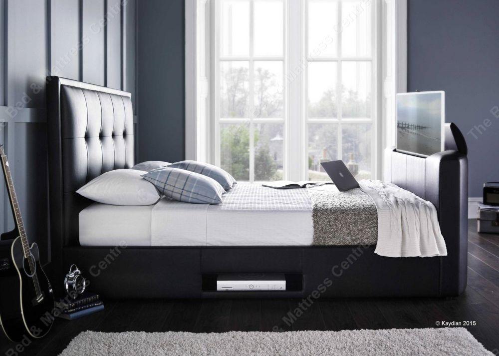 Tv In Bed : Barnard tv bed royalty bedding