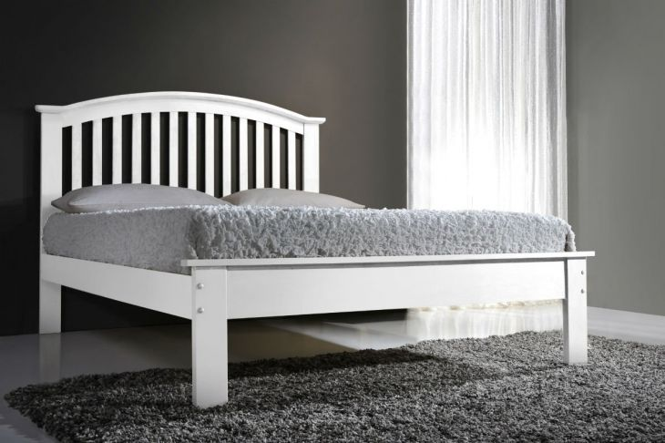 UK Double Leeswood in White by Flintshire Furniture