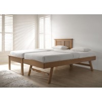 Halkyn Oak Guest Bed at the Bed and Mattress Centre