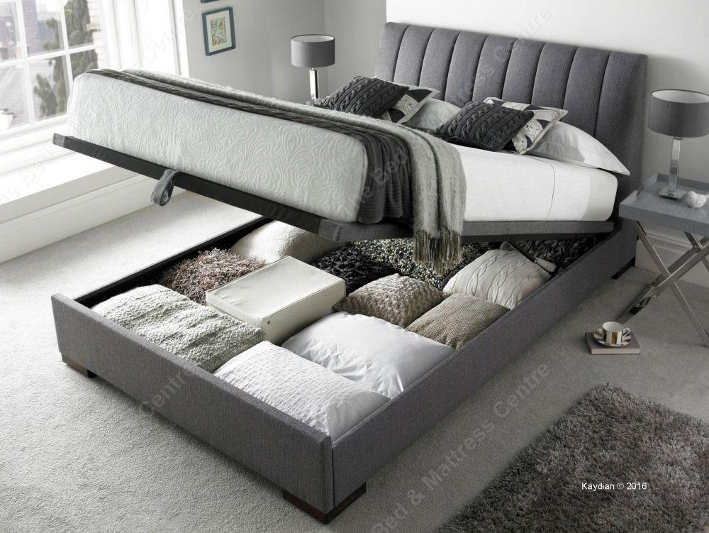 kaydian uk double lanchester ottoman bed bed frame bed. Black Bedroom Furniture Sets. Home Design Ideas