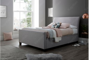 Allendale in Marbella Grey at the Bed and Mattress Centre