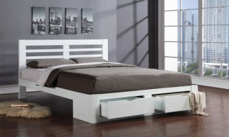New Bretton in White at the Bed and Mattress Centre
