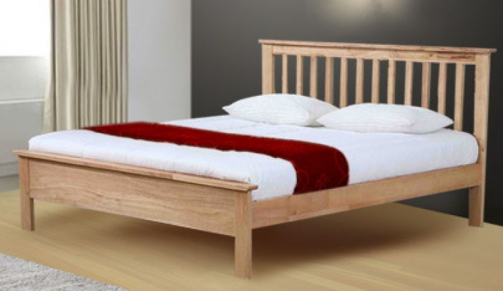 Pentre natural 6ft Super king by Flintshire Furniture