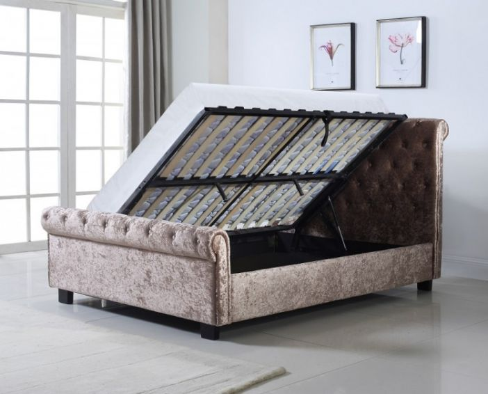 Whitford Ottoman in Mink Bed